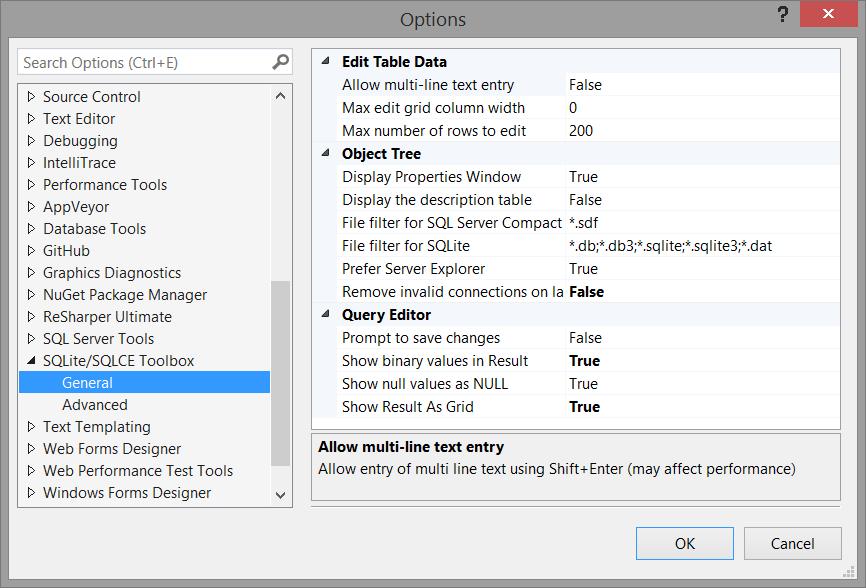 sqlite sql server compact toolbox visual studio marketplace - Sqlite Database Designer